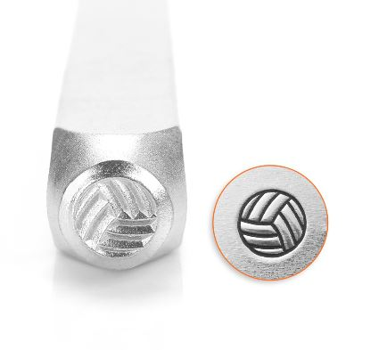 Volleyball<br>Design Stamp<br>6mm