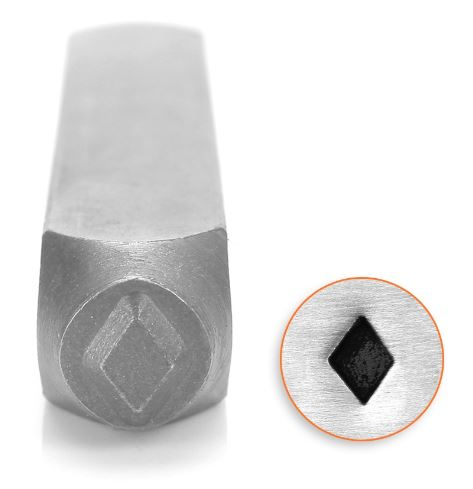 Solid Diamond<br>Design Stamp<br>6mm