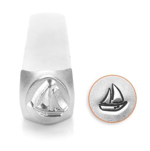 Sailboat<br>Design Stamp<br>6mm