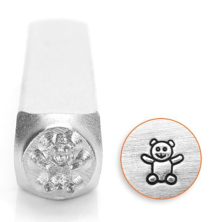 Teddy Bear<br>Design Stamp<br>6mm