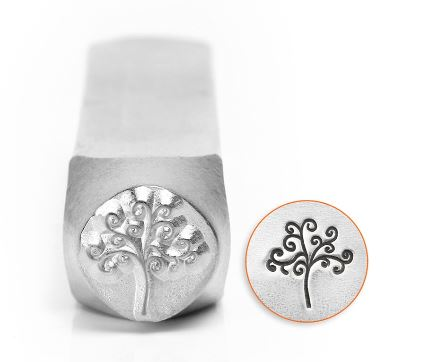 Tree of Life<br>Design Stamp<br>9.5mm