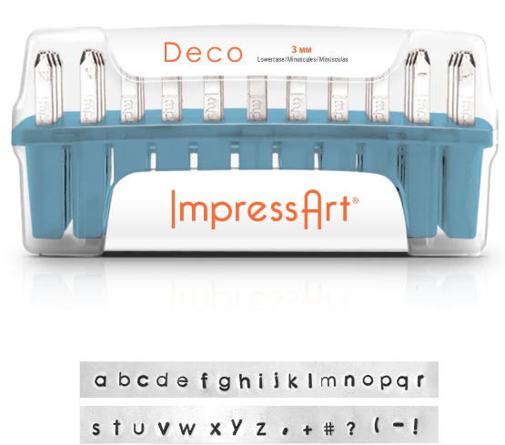 Deco<br>Lowercase Letter Set<br>1.5mm