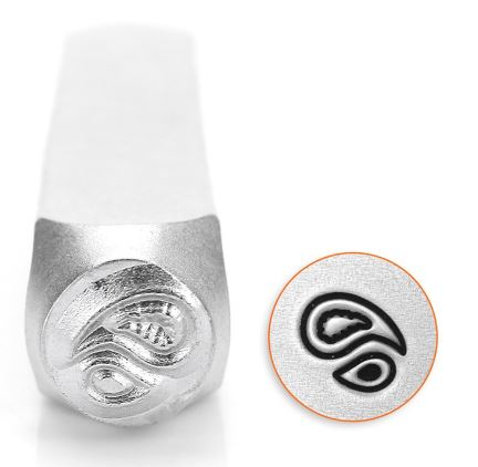 Paisley<br>Design Stamp<br>6mm