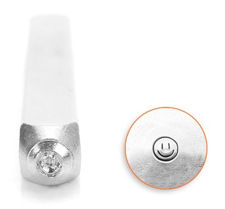 Smiley Face<br>Design Stamp<br>3mm