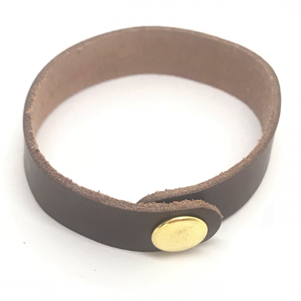Wrist Strap<br>Bark Leather<br>15mm x 210mm (Small)