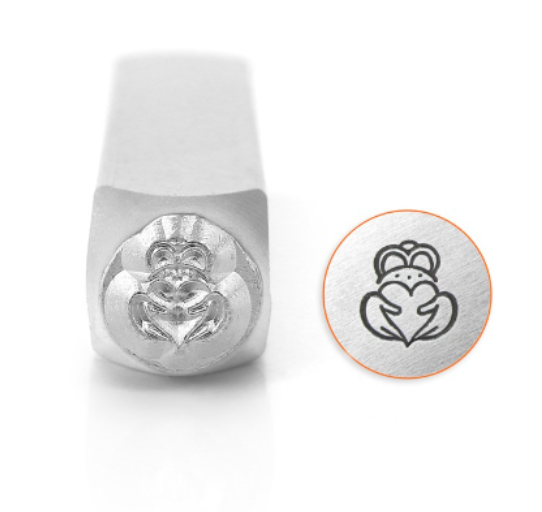 Claddagh<br>Design Stamp<br>6mm