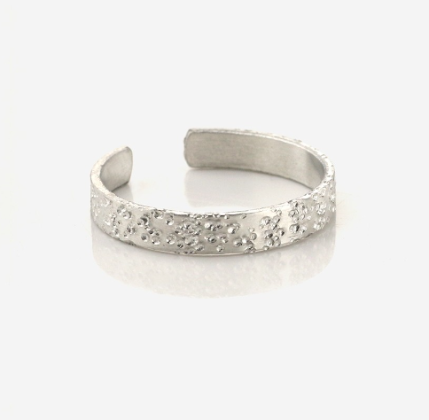 Ring, Size 7-9<br>Aluminium Stamping Blank<br>3.5mm x 57mm