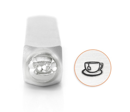 Teacup<br>Design Stamp<br>6mm