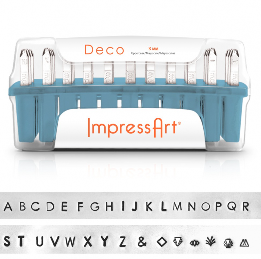 Deco<br>Uppercase Letter Set<br>3mm
