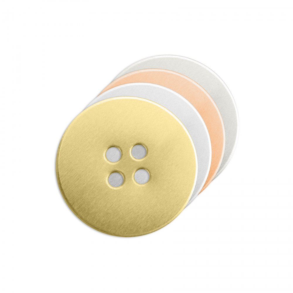 Button Small<br>Stamping Blank<br>19mm
