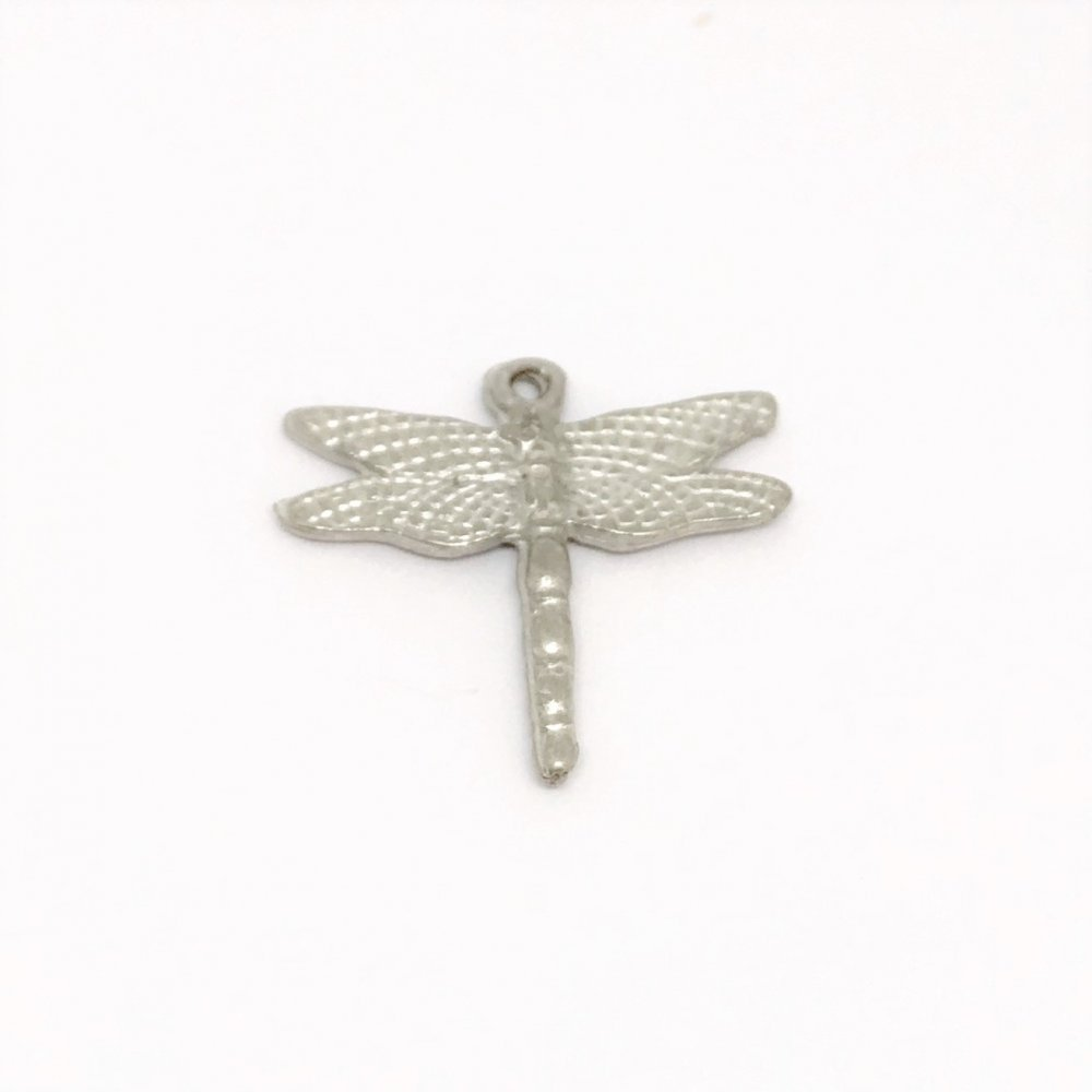 Dragonfly Charm<br>Cast Pewter<br>Large (20mm)