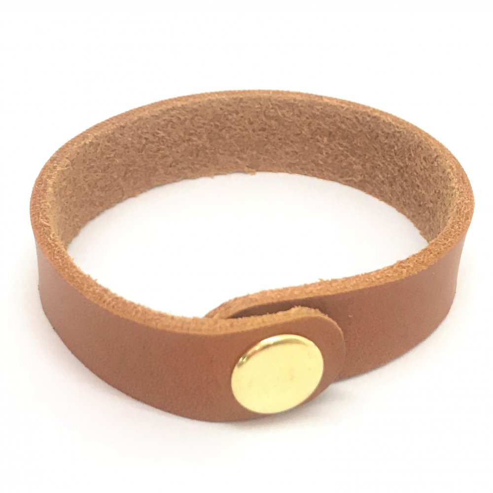 Wrist Strap<br>Teak Leather<br>15mm x 210mm (Small)