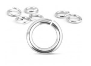 Aluminium Jump Rings<br>16 Gauge-6mm<br>50 Pack