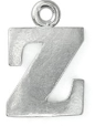 Letter Charm Z<br>Pewter Stamping Blank<br>19mm