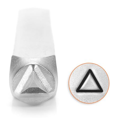 Triangle<br>Design Stamp<br>6mm