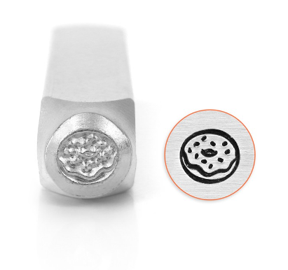 Donut<br>Design Stamp<br>6mm