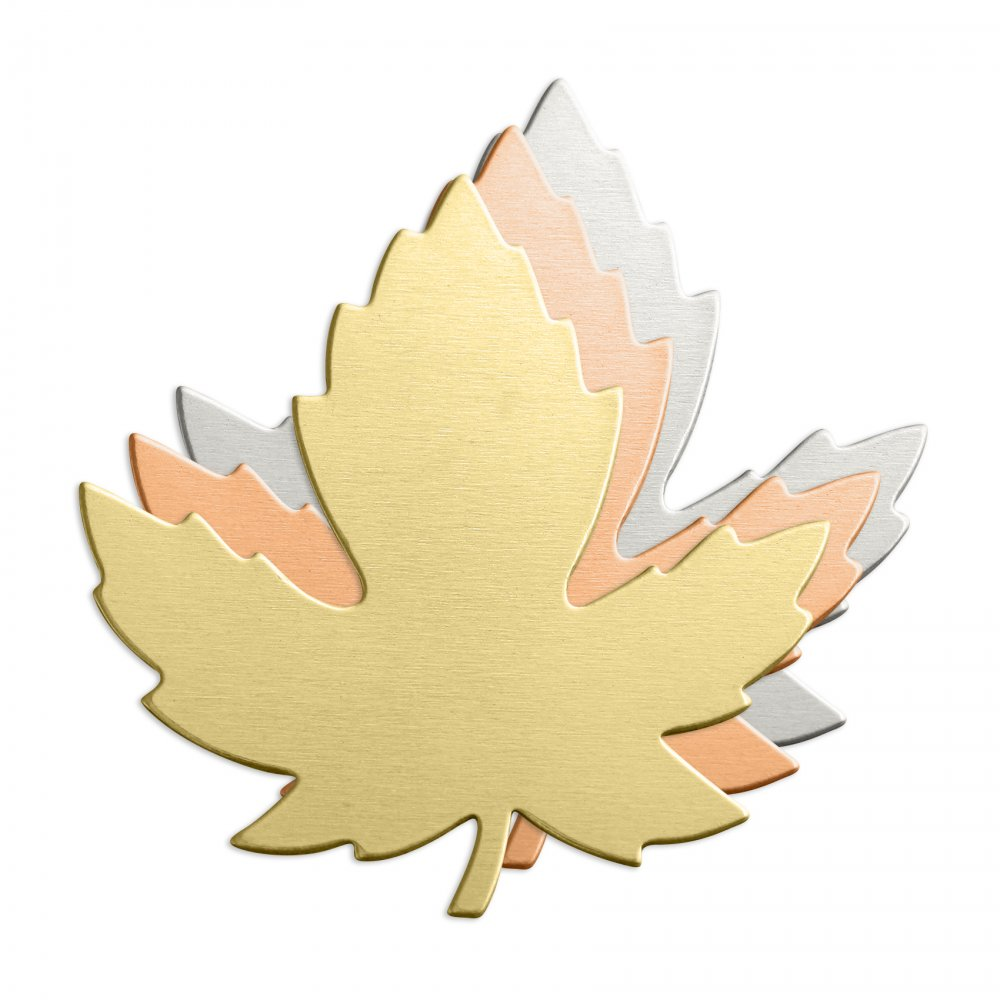 Maple Leaf<br>Stamping Blank<br>28mm