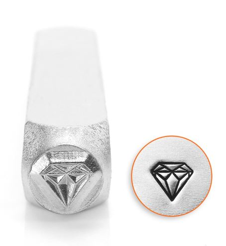 Diamond<br>Design Stamp<br>6mm