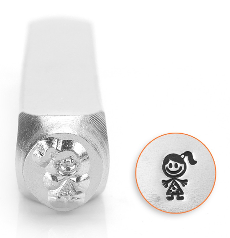 Sara Stick Figure<br>Design Stamp<br>6mm