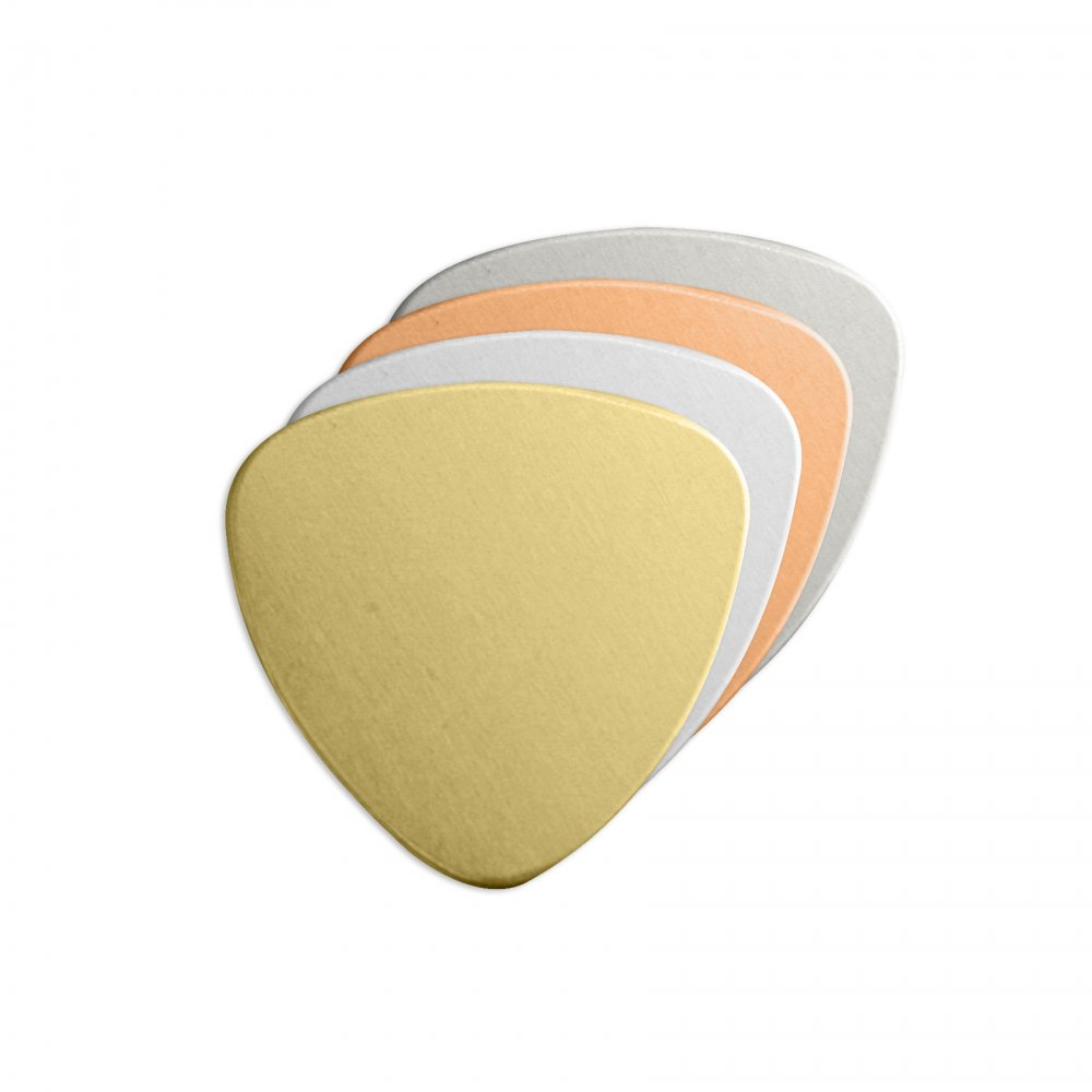 Guitar Pick<br>Stamping Blank<br>22mm