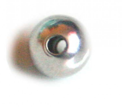 Round Bead<br>Nickel Free<br>10mm Bead / 6 Pack