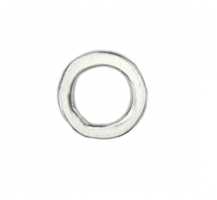 Circle Organic Washer<br>Pewter Stamping Blank<br>(Small) 23mm