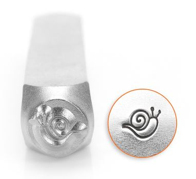 Snail<br>Design Stamp<br>6mm