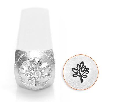 Leaf Tree<br>Design Stamp<br>6mm