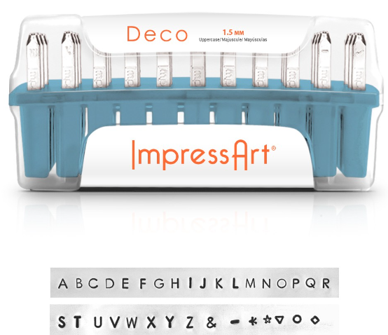 Deco<br>Uppercase Letter Set<br>1.5mm