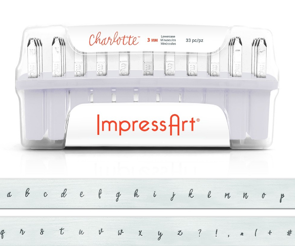 Charlotte<br>Lowercase Letter Set<br>3mm