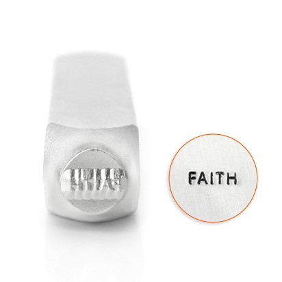 Faith<br>Design Stamp<br>6mm