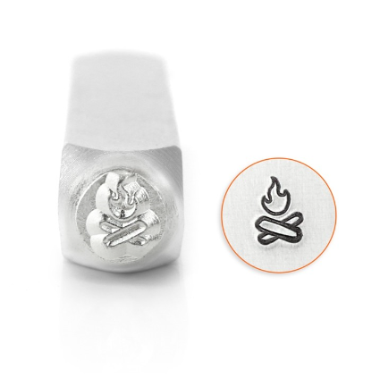 Campfire<br>Design Stamp<br>6mm