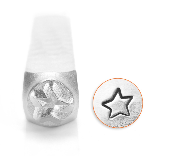 Fun Star<br>Design Stamp<br>6mm