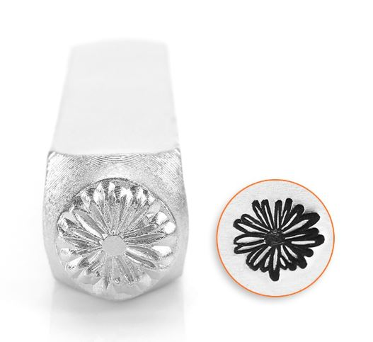 Daisy (Large)<br>Design Stamp<br>9.5mm