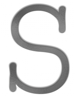 Typewriter<br>Uppercase Individual S<br>9mm