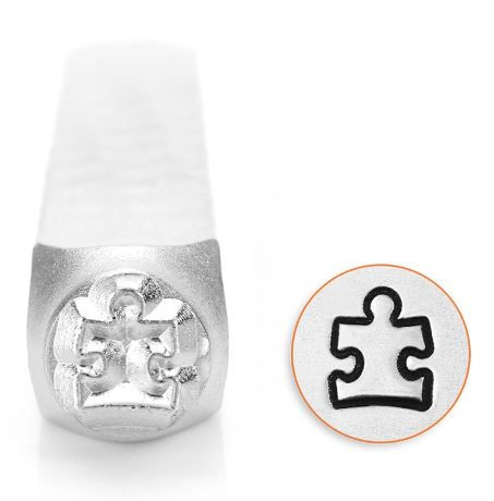Puzzle Piece 2<br>Design Stamp<br>6mm