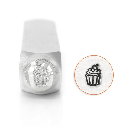Cupcake<br>Design Stamp<br>6mm