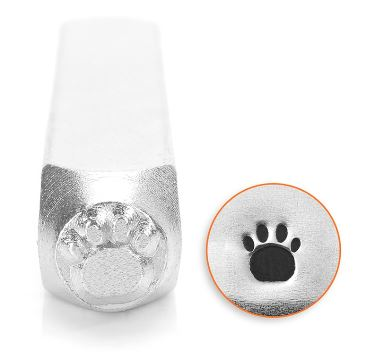Paw Print<br>Design Stamp<br>6mm