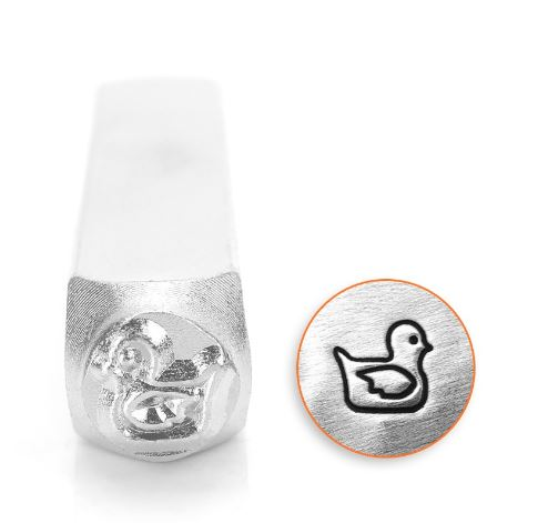 Rubber Ducky<br>Design Stamp<br>6mm