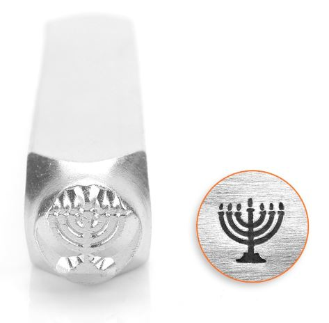 Menorah<br>Design Stamp<br>6mm