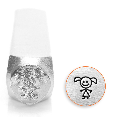 Daughter Stick Figure<br>Design Stamp<br>6mm
