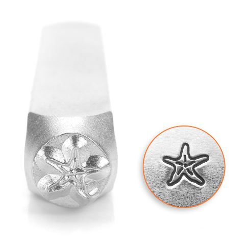 Starfish<br>Design Stamp<br>6mm