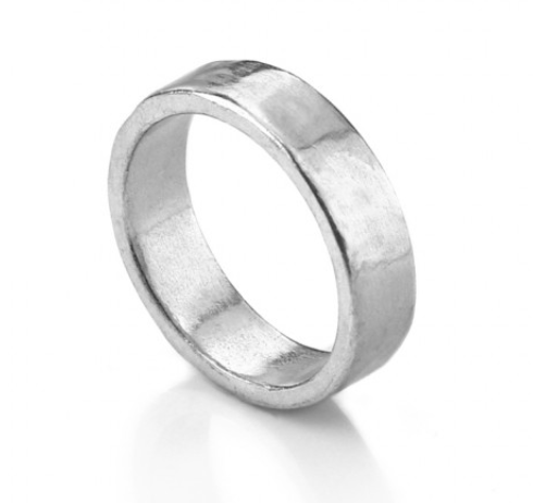 Ring<br>Pewter Stamping Blank<br>6mm, Size 5