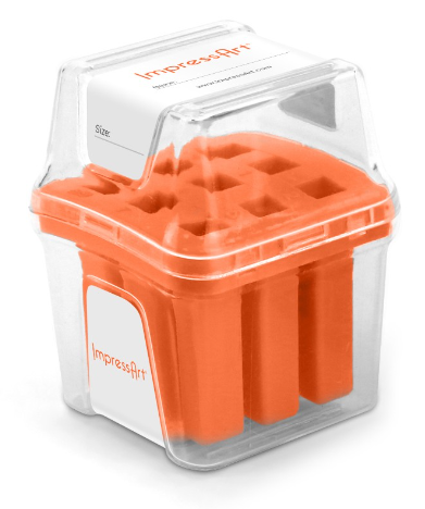 Number Stamp Storage Case<br>Orange<br>6mm