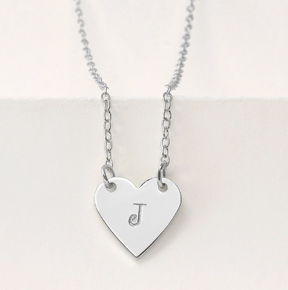 Personal Impressions<br>Heart - 5 Pieces<br>Silver Plated