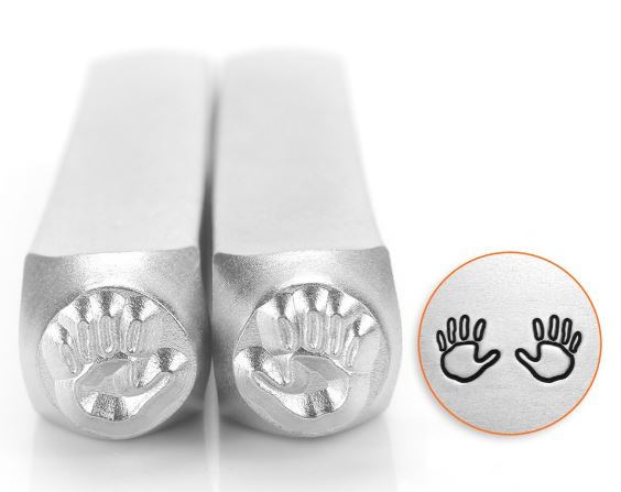 Hands Outline<br>Design Stamps<br>6mm
