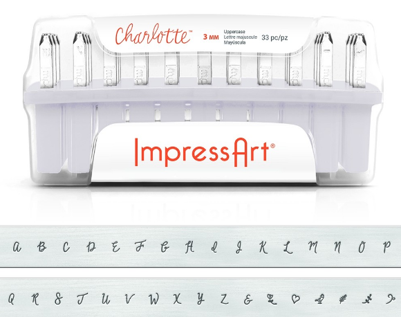 Charlotte<br>Uppercase Letter Set<br>3mm