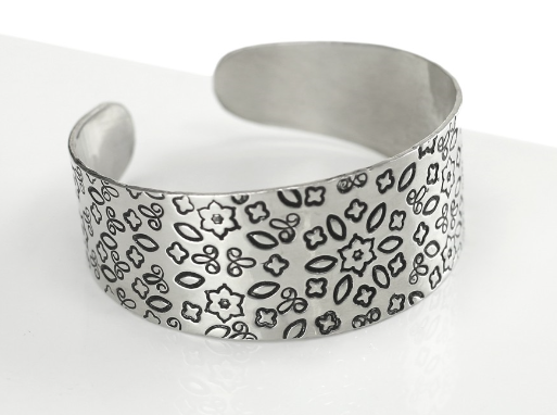 Tapered Bracelet<br>Aluminium Stamping Blank<br>22mm x 150mm