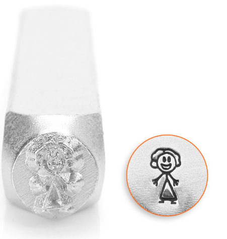 Mom Stick Figure<br>Design Stamp<br>7mm