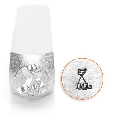 Sitting Cat<br>Design Stamp<br>6mm